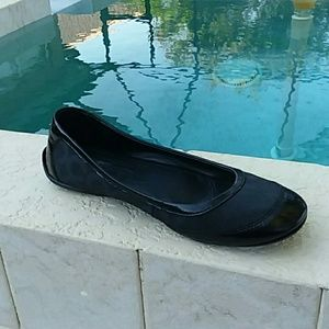 Coach Black Flats Shoes Size 10